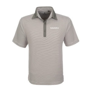 Nissan Navara golf shirts men's light grey