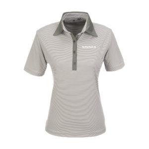 Nissan Navara Golf Shirts Ladies Light Grey
