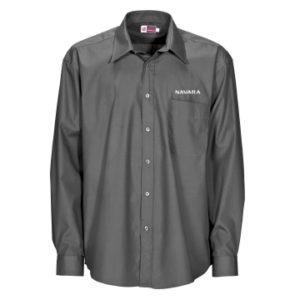 Nissan Navara Men's Grey Long Sleeve Shirt