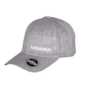 Nissan Navara Pro Style U Flex 6 Panel Cap Grey