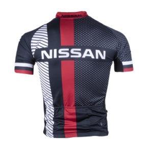 Nissan Men's Performance SS Cycling Shirt Back View