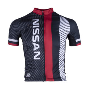 Nissan Men's Performance SS Cycling Shirt Front View