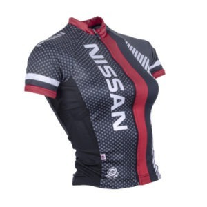 Nissan Ladies Performance SS Cycling Shirt Side View