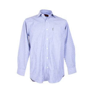 Nissan Blue White Long Sleeve Shirt