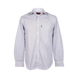Nissan Grey White Long Sleeve Shirt