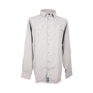Nissan Safari Khaki Long Sleeve Shirt