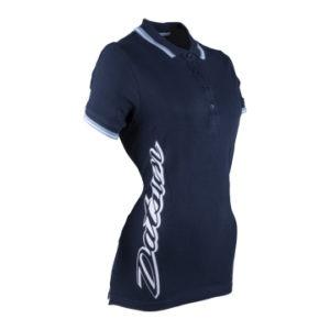 Datsun Ladies Retro Golf Shirt Side View