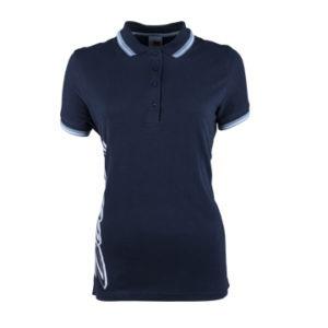 Datsun Ladies Retro Golf Shirt Front View