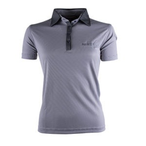 Nissan Golf Shirt Ladies Light Grey