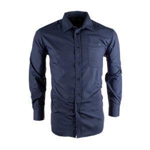 Nissan Men's Long Sleeve Grey Shirt
