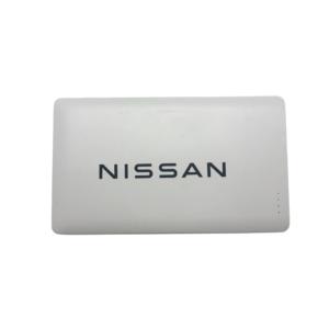 Nissan 4000mAH Slim powerbank side view
